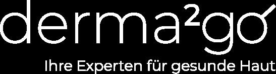 Das Bild zeigt das Logo des Telemedizinanbieters derma2go.