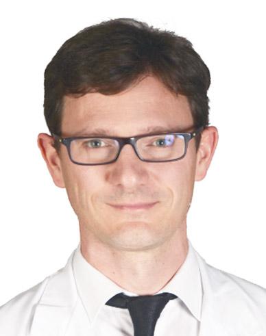 Das Bild zeigt Prof. Dr. Dr. Navarini, Basel (USB).