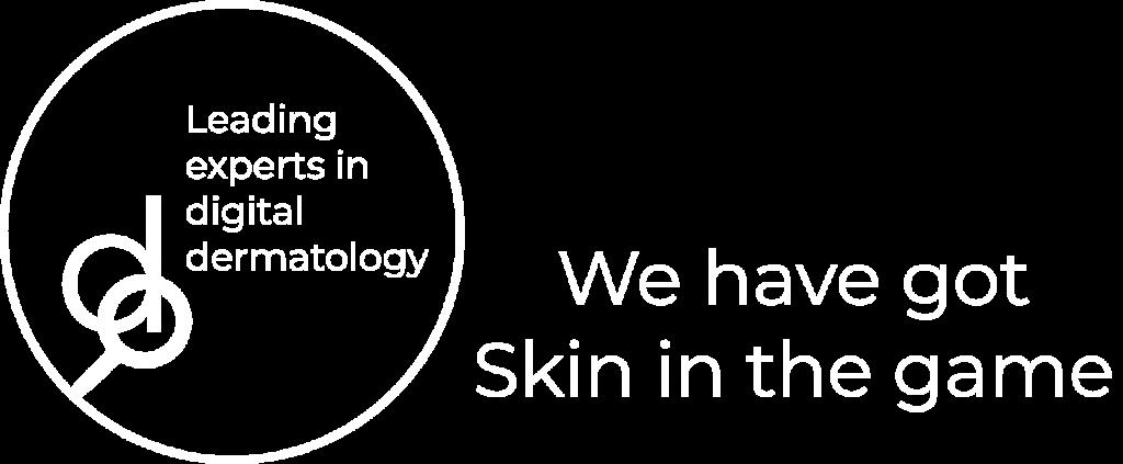 Das Bild zeigt das Logo des Teledermatologie-Anbieters derma2go.