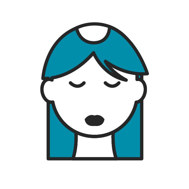 Das Icon fasst alle Beiträge zu Haarausfall zusammen.