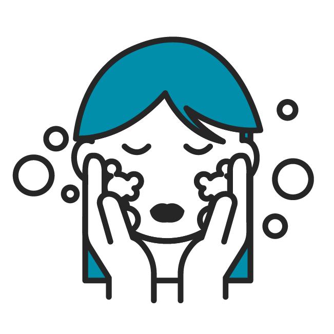 Das Icon fasst alle Beiträge zur Hautpflege zusammen.