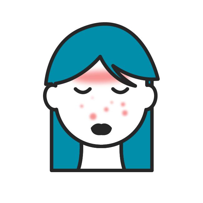Das Icon fasst alle Beiträge zu Neurodermitis zusammen.