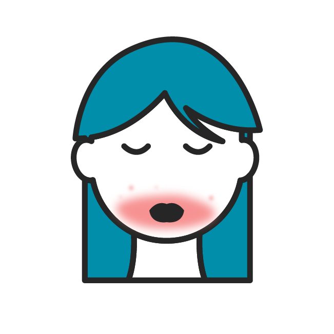 Das Icon fasst alle Beiträge zu perioraler Dermatitis zusammen.