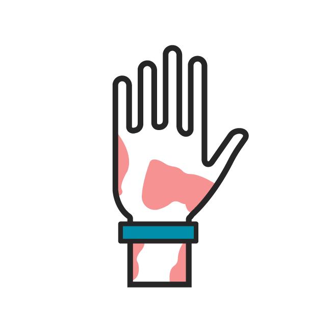 Das Icon fasst alle Beiträge zu Psoriasis zusammen.